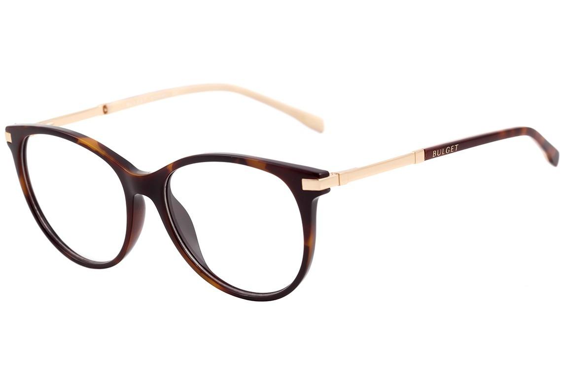 0c1a85ef9f412 bulget bg 4042 - óculos de grau g21 marrom mesclado e. Carregando zoom.