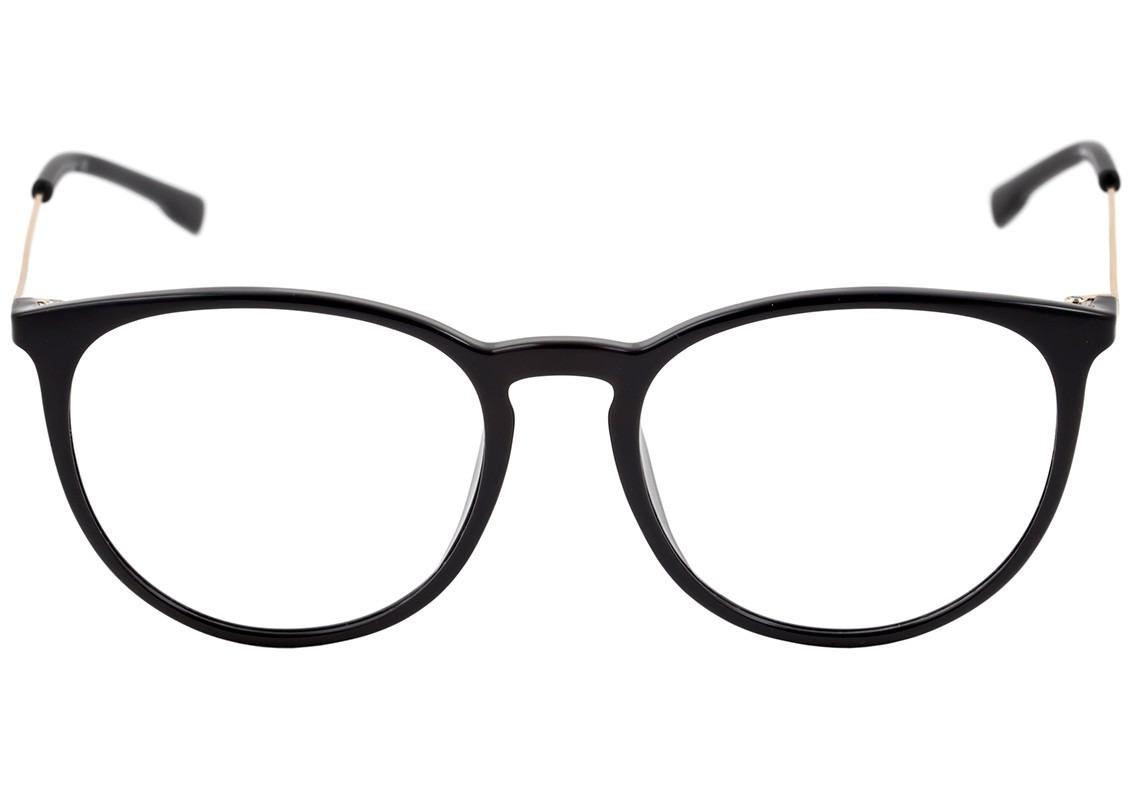 7b238e3066031 Bulget Bg 4052 - Óculos De Grau A02 Preto E Dourado Brilho - R  237 ...