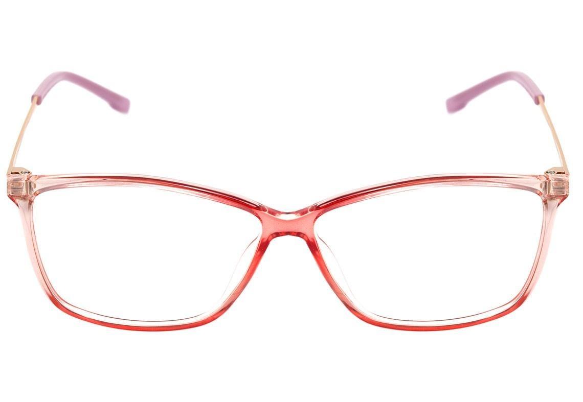 bulget bg 4074 - óculos de grau c02 rosa translúcido e doura. Carregando  zoom. aa5beb7bb9
