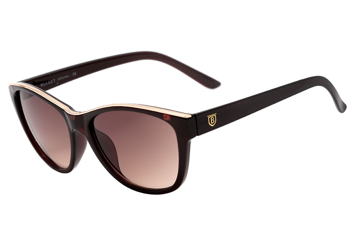 3bf2600518333 Bulget Bg 5150 - Óculos De Sol T01 Marrom Translúcido E - R  259