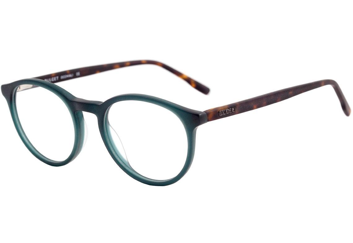99a60a42083d5 bulget bg 6173 - óculos de grau t01 verde e marrom mesclado. Carregando  zoom.