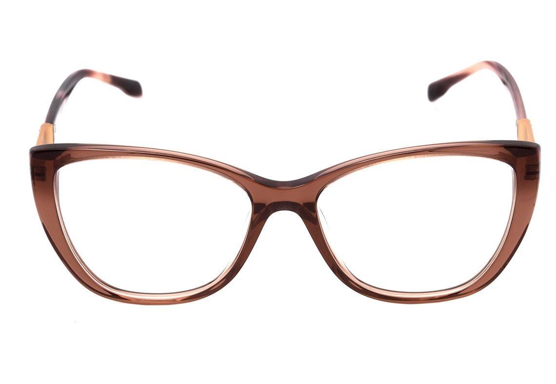 3987e96776b54 bulget bg 6196 - óculos de grau t04 marrom translúcido e bra. Carregando  zoom.
