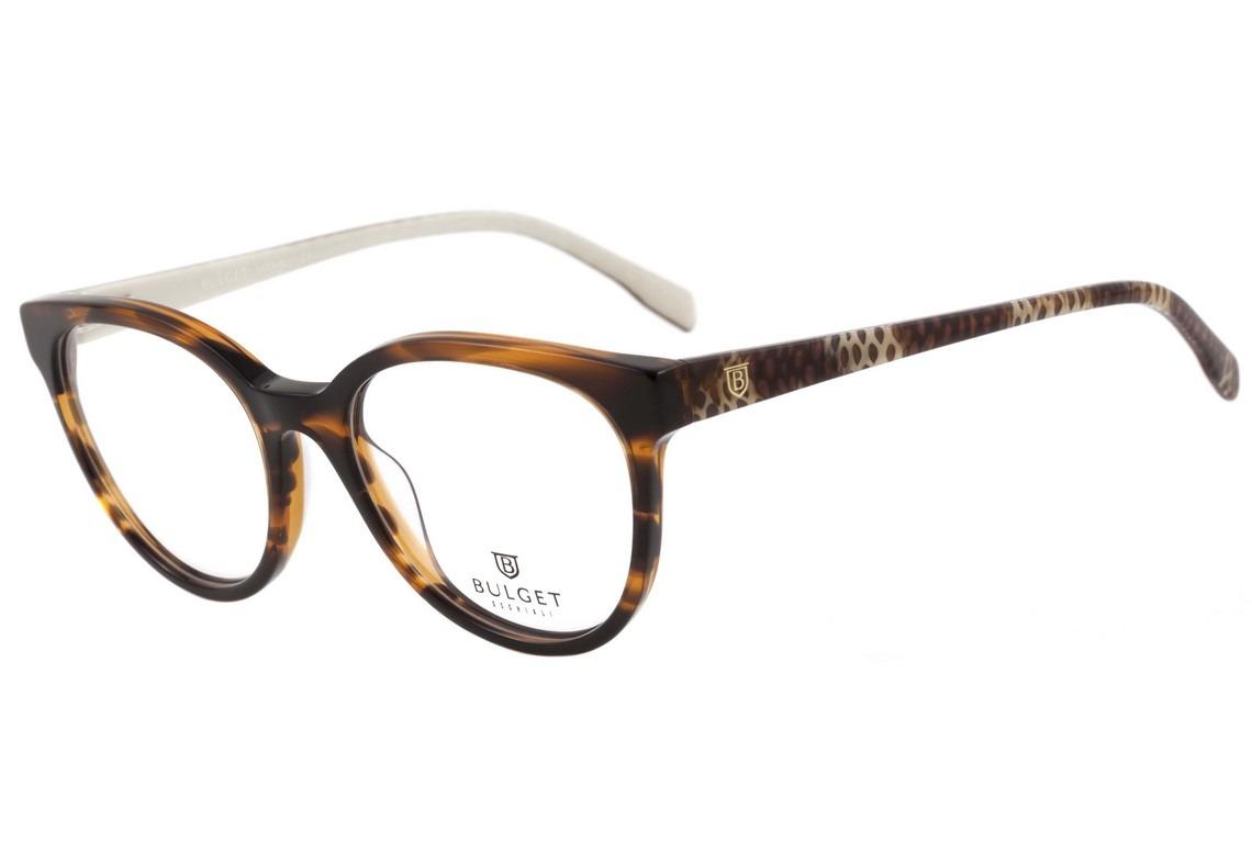 e3beb131fbfa7 Bulget Bg 6206 - Óculos De Grau E01 Marrom Mesclado Brilho - R  267 ...