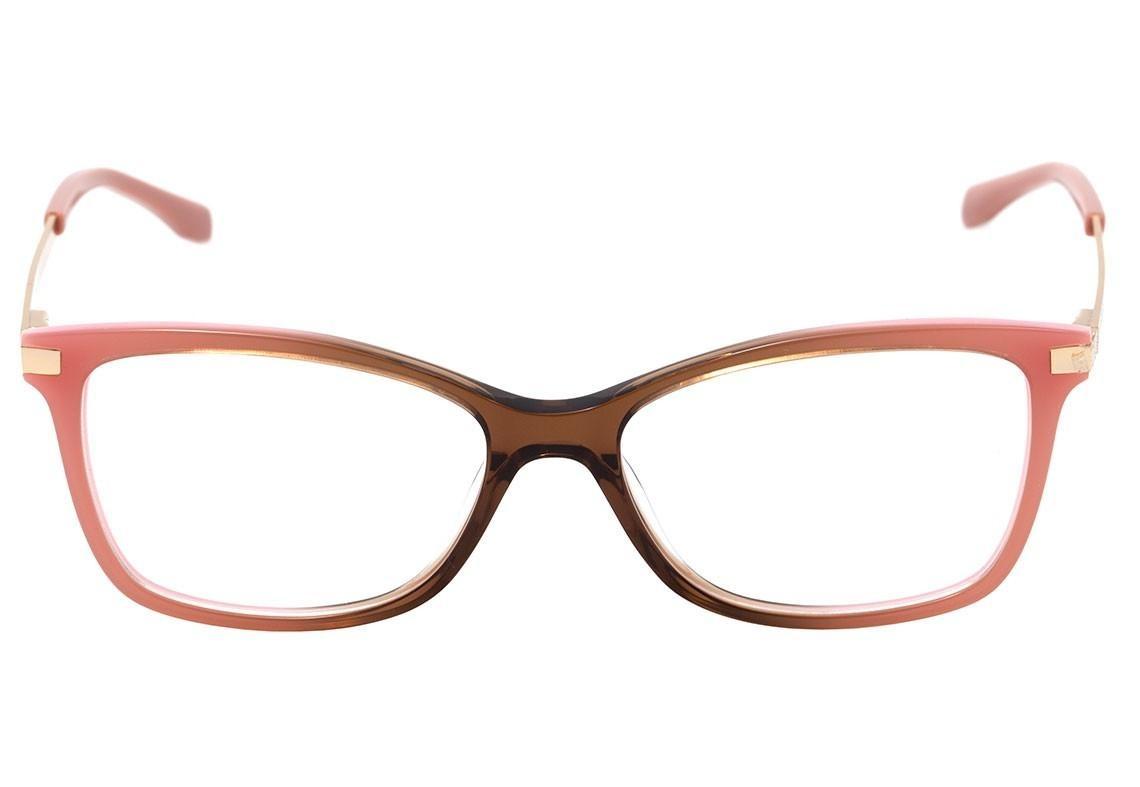 bulget bg 6266 - óculos de grau c03 rosa e marrom brilho len. Carregando  zoom. 510de8a31e