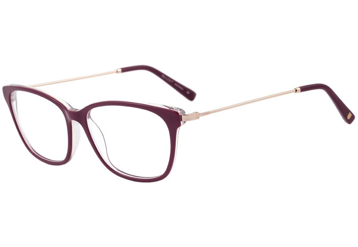 d976ff181057c Bulget Bg 7003 - Óculos De Grau T01 Vinho E Dourado Brilho - R  249 ...