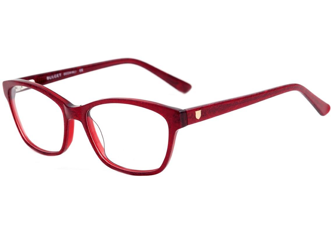 bulget bg 7011 - óculos de grau j04 vermelho brilho - lente. Carregando  zoom. ad89c9ecd2