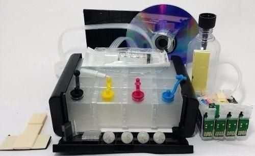 bulk ink cartucho xp214 xp401 xp411 caixa preta+ 2 lit tinta