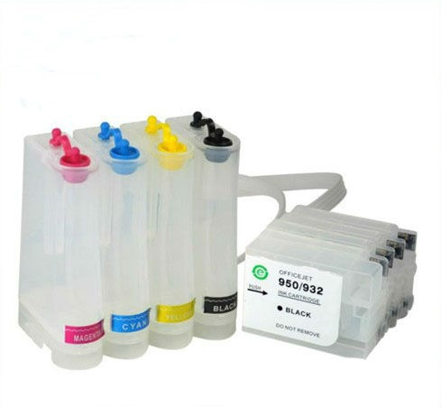bulk ink completo hp pro 8610 8620 8630 c/ cartuchos e chips