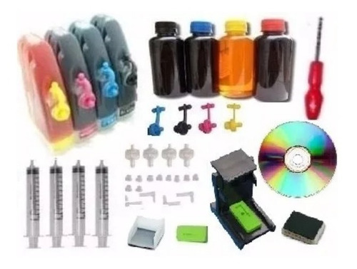 bulk ink hp 2135 2136 2675 2676 1115 3635 3636 +400ml tinta