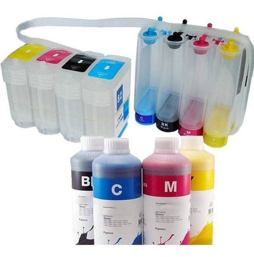 bulk-ink hp 500 800 800ps plotter c4911a c4912 hp500 + tinta