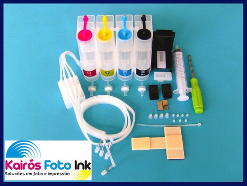 bulk ink hp, bico metal, valvula antirefluxo,broca,snap fill