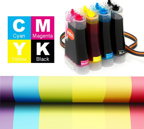 bulk ink para impressora hp 1315 + 400ml de tinta + brinde!