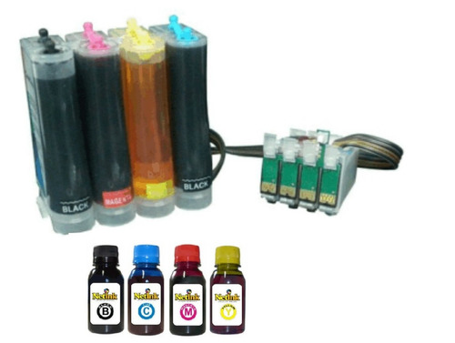 bulk ink tx115 - tx105 - t23 - t24 - tx109  + 400ml de tinta
