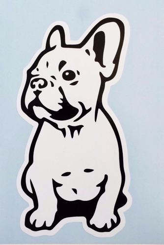 bulldog frances  french stickers dog mde mascotas