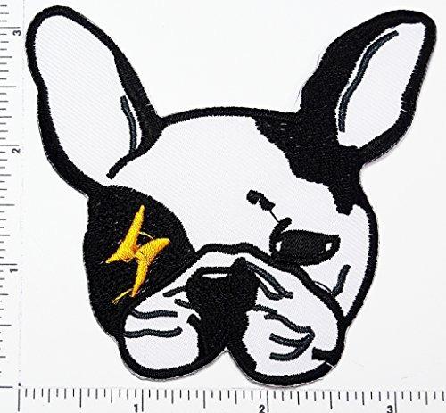 Bulldog Francés Perrito Mascota Dibujos Animados Bebé Par S 103