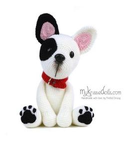 Puppy Dog French Bulldog Amigurumi | Puppe häkeln, Handarbeit, Basteln | 284x255