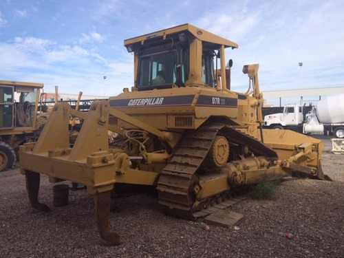 bulldozer caterpillar d7r xr mod 2001 con ripper
