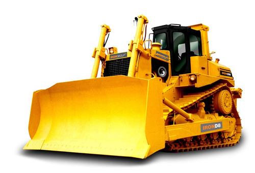 bulldozer iron d8 tractor topador