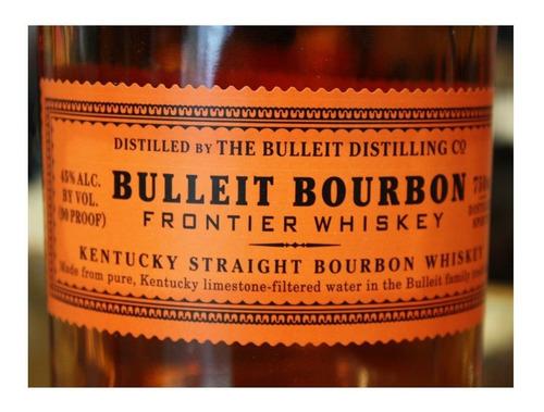 bulleit bourbon frontier whiskey de 700ml