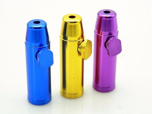 bullet dosador snuff alumínio promoção