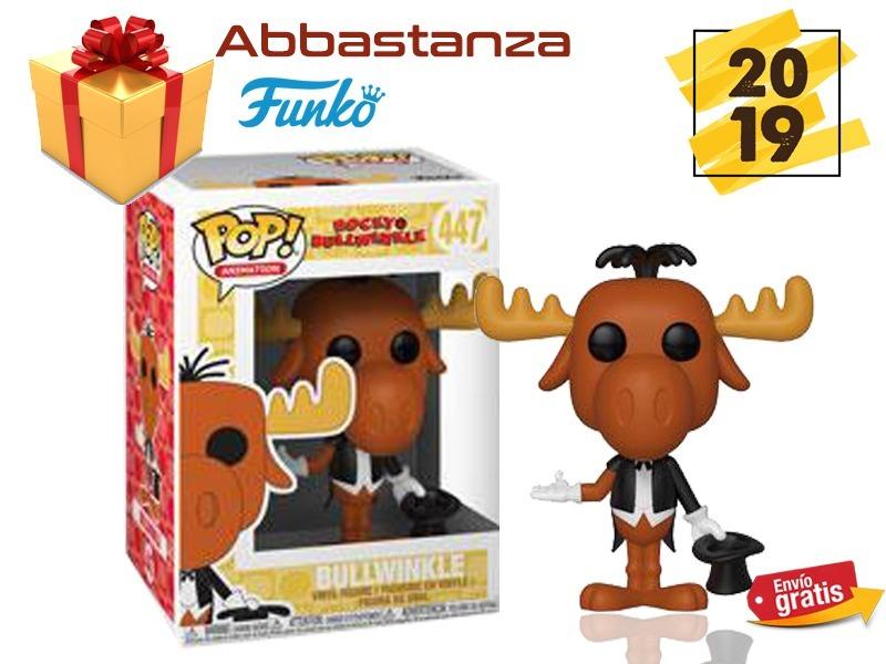 Bullwinkle 447 Funko Pop Rocky Bullwinkle Envio Gratis 54900