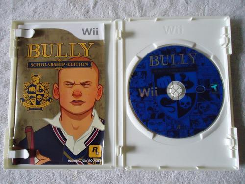 bully nintendo wii y wii u