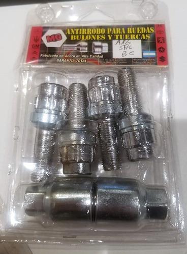bulones antirrobo volkswagen vw amarok 2 llaves