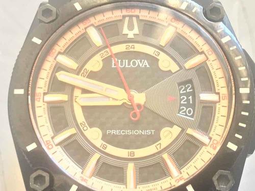 bulova precisionist charcoal 98b143 pvd wr300m