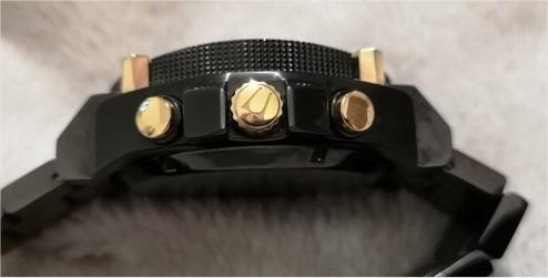 bulova precisionist chronograph preto