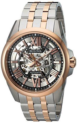 dd0f305e9f77 Bulova Reloj Automático De Acero Inoxidable Para Hombres