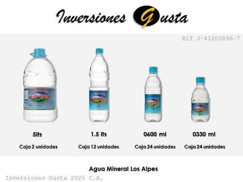 bulto de agua mineral, jugo, refresco, soda, gatorade