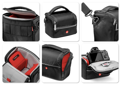 bulto manfrotto shoulder bag 7. nuevo. r y m