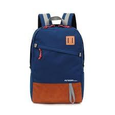bulto / mochila argom capri backpack 15.6 pulgs. azul con ma
