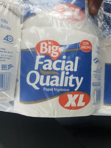 bulto papel higienco 48pz facial quality