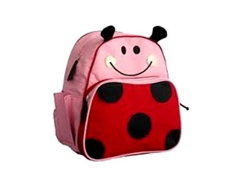 bultos morral bolsos escolar mariquita animales bebes niños