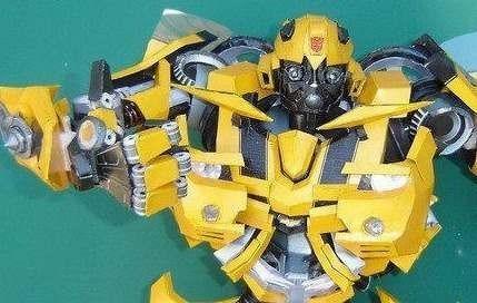 bumble bee papercraft (solo los archivos)
