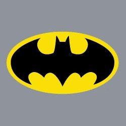 bumkins dc comics superbib con cabo, batman (6-24 meses)