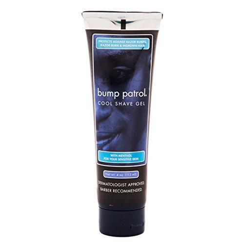 bump patrol fresco shave gel con mentol pieles sensibles 4 o