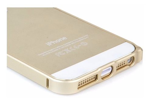 bumper aluminio 100% iphone 6, 6 plus, 5s + lapiz touch