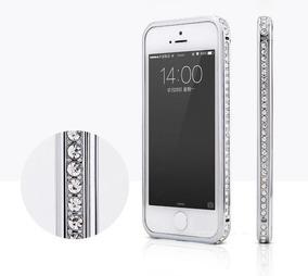 08934ffb6d1 Bumper Aluminio Cristal Diamantes Swarovski iPhone 6 Metal