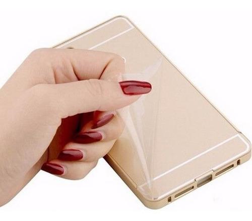 bumper aluminio de lujo sony xperia c5 ultra back cover