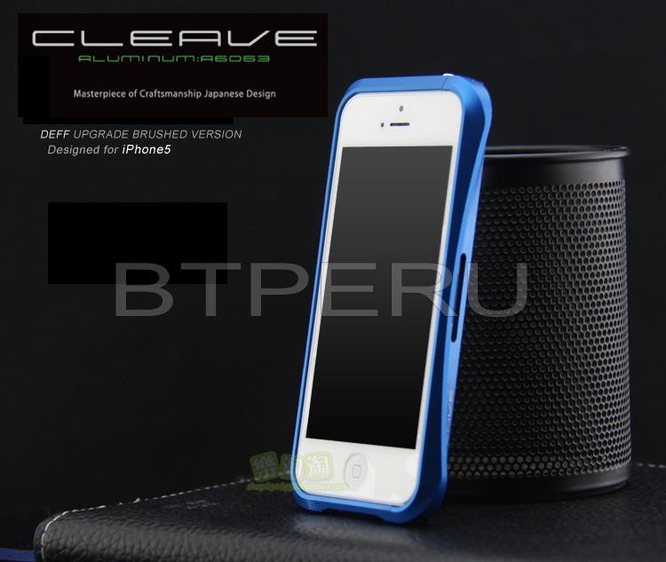 low priced b4957 e5f68 Bumper Aluminio Para iPhone 5 5s Se Deff Cleave Protector