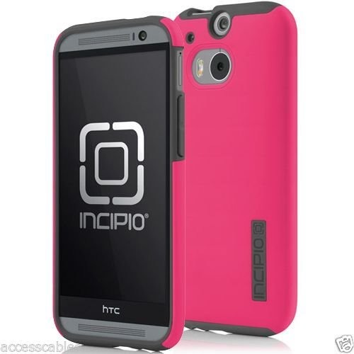 quality design 0690d 8dbe0 Bumper Antishock Incipio Htc One M8 Rosa