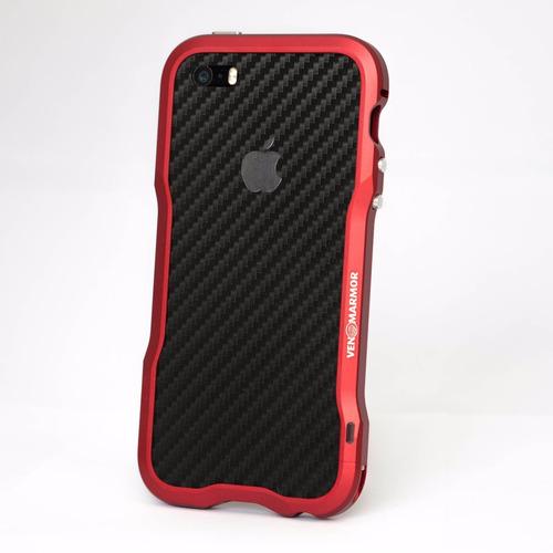 bumper case de aluminio venom armor - apple iphone 5 5s se