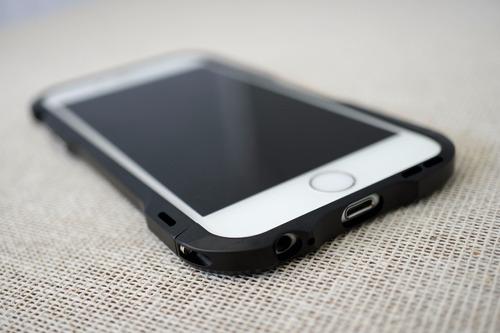 bumper case de aluminio venom armor para apple iphone 6 y 6s