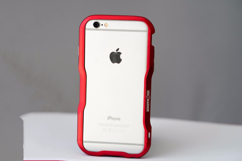 bumper case de aluminio venom armor para apple iphone 6 y 6s