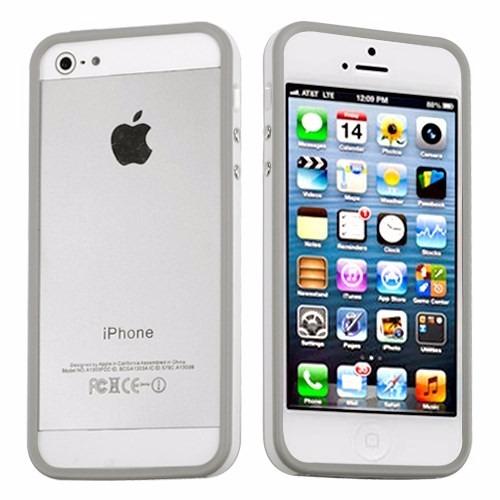 aadafc1fc68 Bumper Case Para iPhone 5/5s/5c/se + 2 Películas De Vidro - R$ 15,00 ...