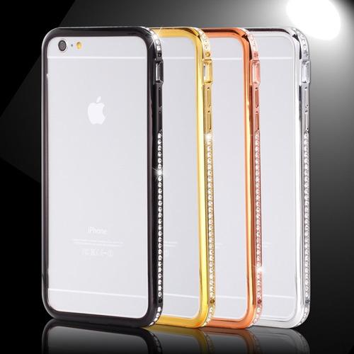 bumper con estras iphone 6 6 plus + 2 film protector