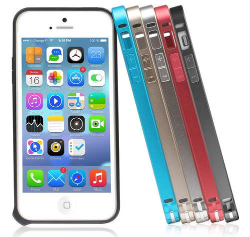 bumper de aluminio iphone 5s / 5 wing series usams