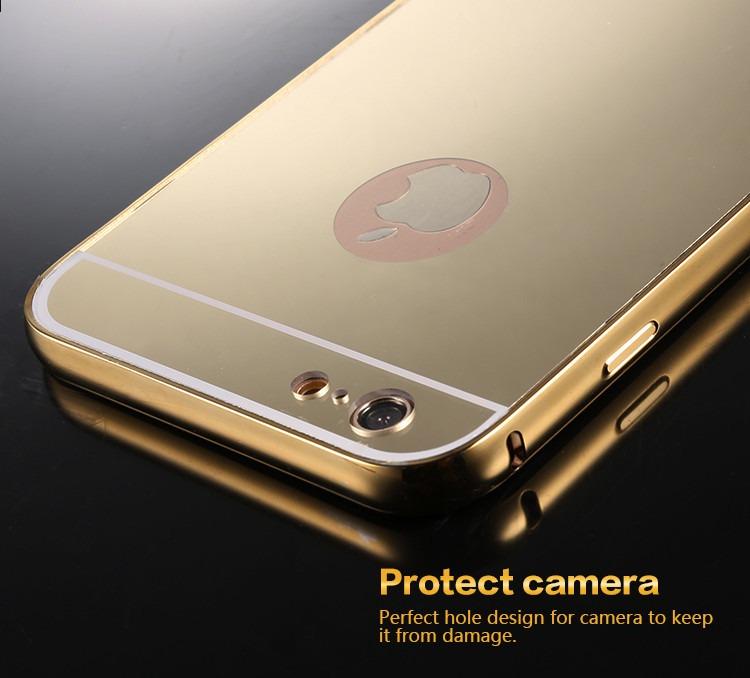 37017364cc0 Bumper Espejo Aluminio iPhone 5 5s - $ 199.00 en Mercado Libre